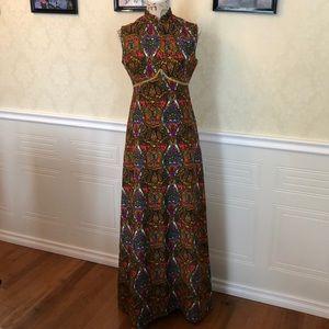 Vintage Mod Geometric Dress